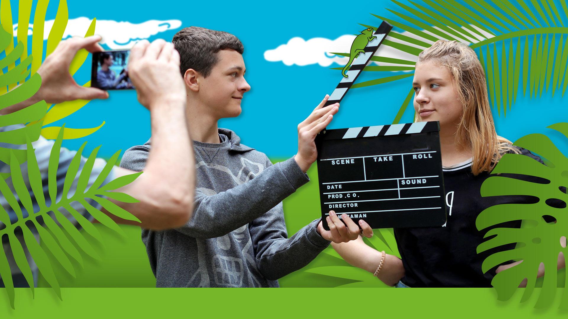 Smart-Film-Safari-Drehteam-Dschungel-gruen