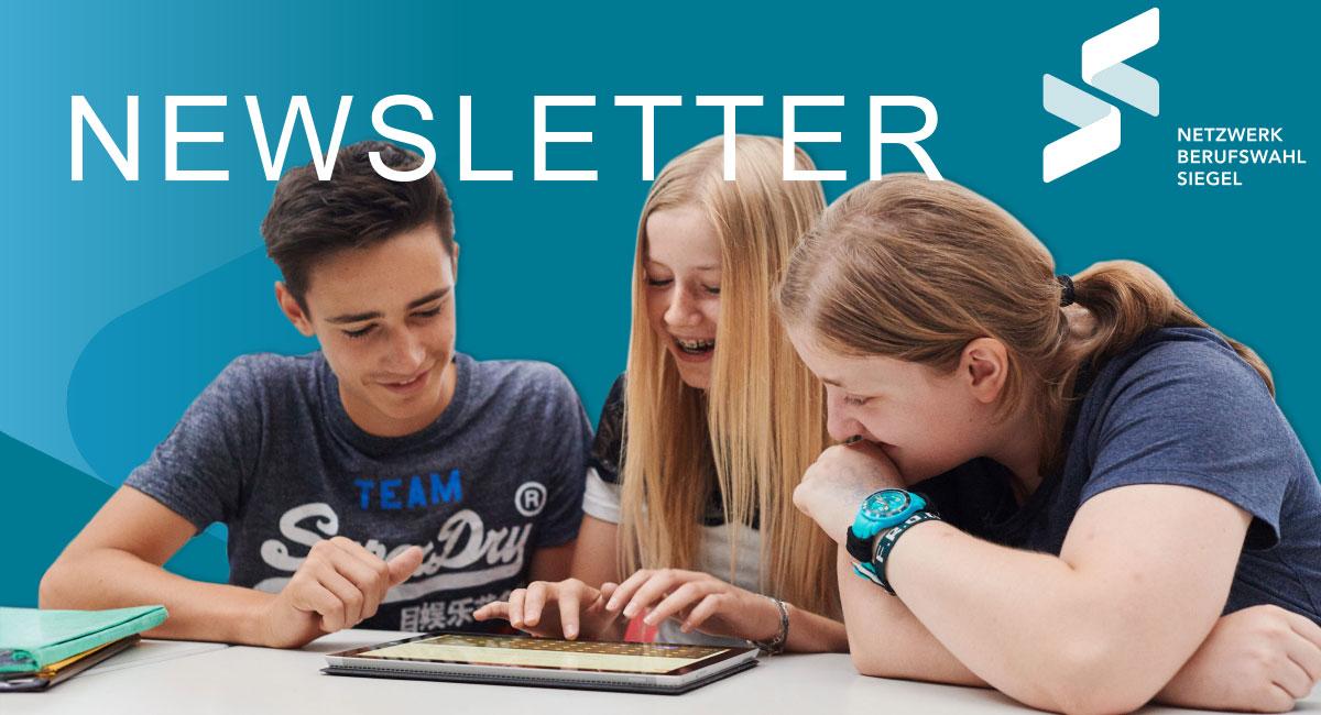 Berufswahl-SIEGEL-Newsletter-Header