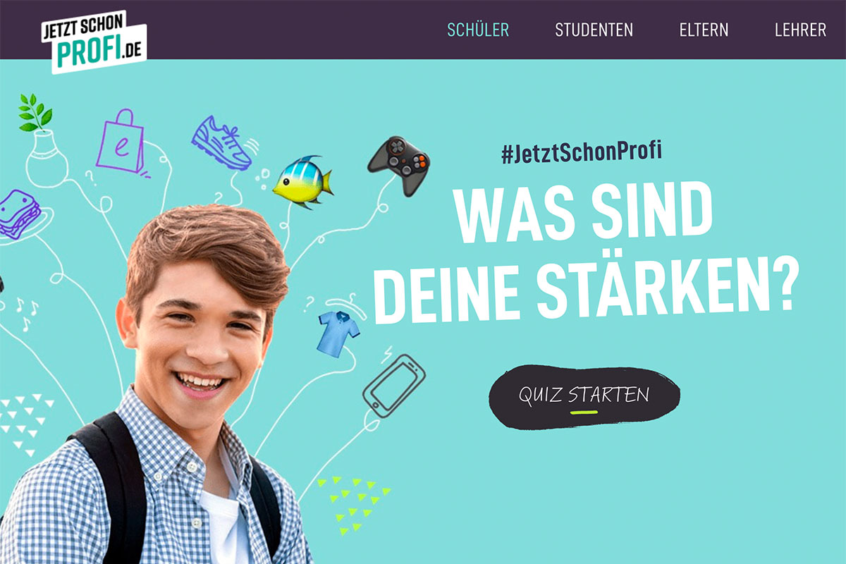 Jetztschonprofi – Portal Des Einzelhandels Zur Berufsorientierung